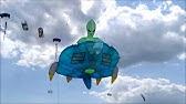 breizh-kam.fr - Une pieuvre courageuse lutte aux journées du vent 2019 de Penvins