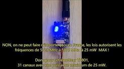 France Webcams KAP - Photographie et vidéo aérienne par cerf-volant KAP - Emetteur KAP TX801