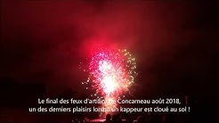 Le final du feu d'artifice de Concarneau - Couleurs Bretagne