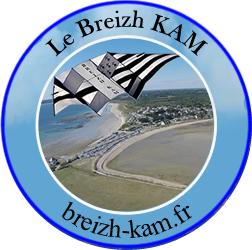 Le BREIZH KAM de france-webcams-kap.fr le premier cerf-volant KAP KAM vraiment made in BREIZH avec une nacelle KAM en vidéo HD