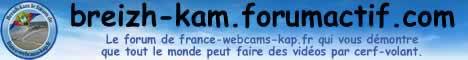 breizh-kam.forumactif.com le forum du cerf-volant KAP et KAM de France Webcams KAP - france-webcams-kap.fr - PUB 468x60