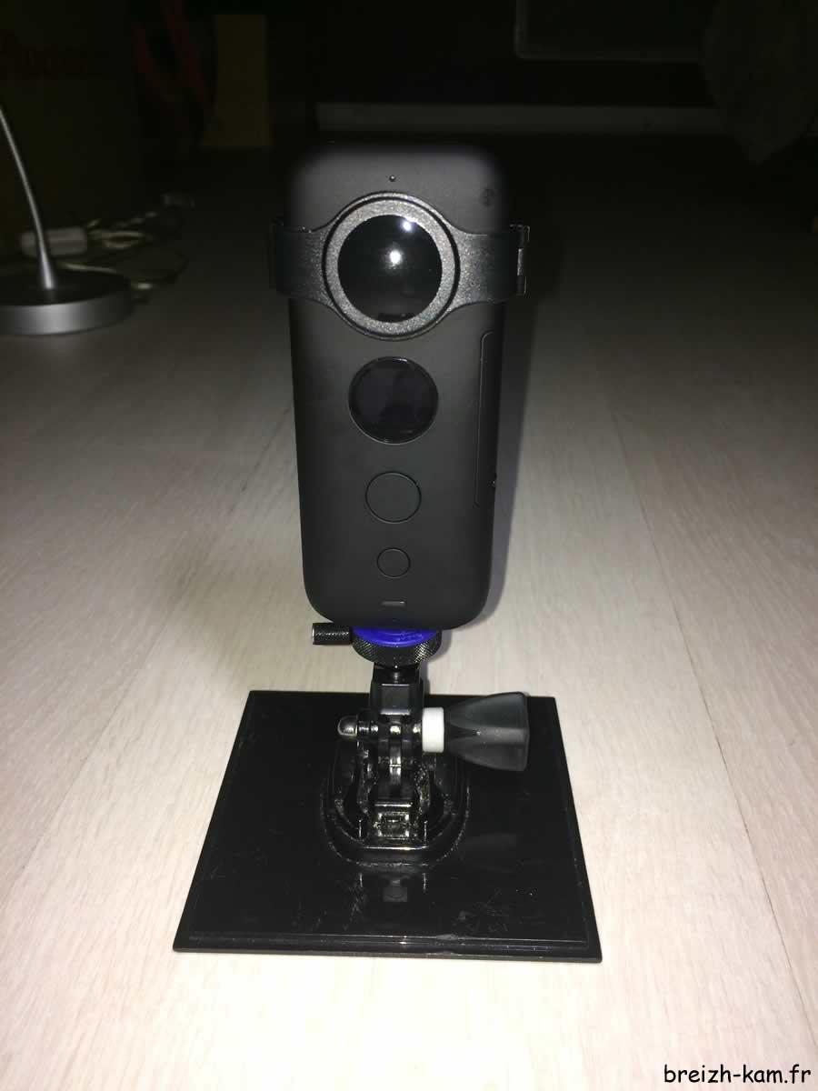 Breizh-kam, le support de la caméra panoramique sphérique